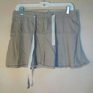 Wet Seal 3 Light Brown Corduroy Mini Skirt